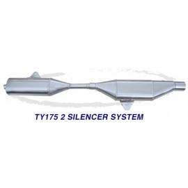 Ligne WES Yamaha TY 125/175