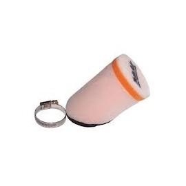 Filtre air cylindrique à 45° diamètre 35