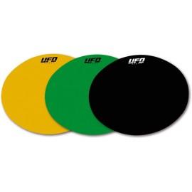 Planche adhésive ovale pour plaques numéros