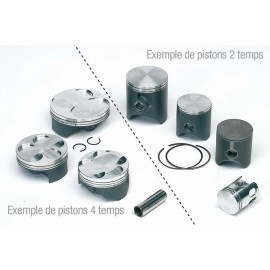 Piston (coulé) Tecnium Honda XLR/XLS125 (Années 79-87)