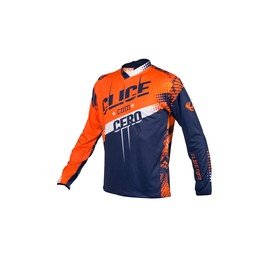 Maillot CLICE cero trial orange