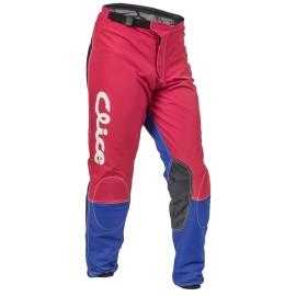 Pantalon CLICE baggy vintage rouge/bleu