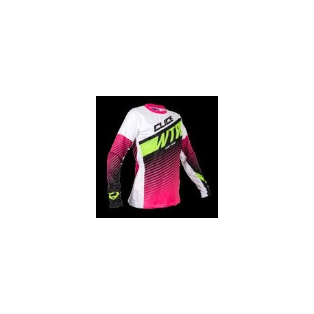 Maillot CLICE lady trial rose