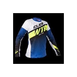 Maillot CLICE lady trial bleu