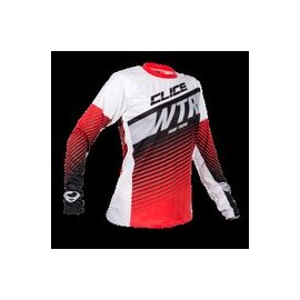 Maillot CLICE lady trial rouge