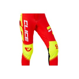 Pantalon CLICE enfant trial rouge