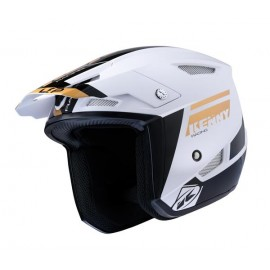 Casque kenny TRIAL UP GRAPHIC blanc/OR