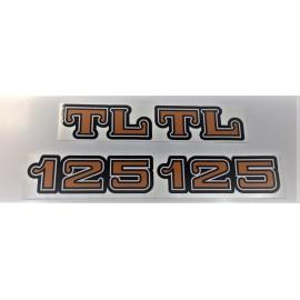 Autocollant cache latéraux HONDA TL 125