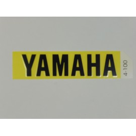Autocollant YAMAHA