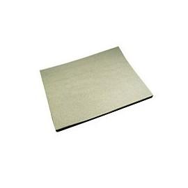 Planche mousse filtre air 330x280x10 bicolor
