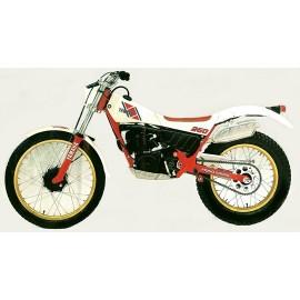 Yamaha TY 250 59N 1984 à 1992