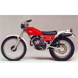 Fantic 125 TX250 de 1978 à 1980