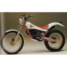 Aprilia TX 125/311/312 de 1986 à 1988